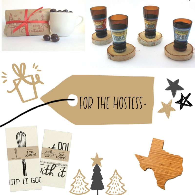 Day 3 of 12 Days of Blogmas!! I'm sharing a holiday guide for everyone on your list. {hostess gifts}