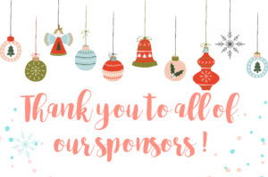 Thank you to all of our sponsors! Over 800 in prizes plus $150 in Paypal Cash