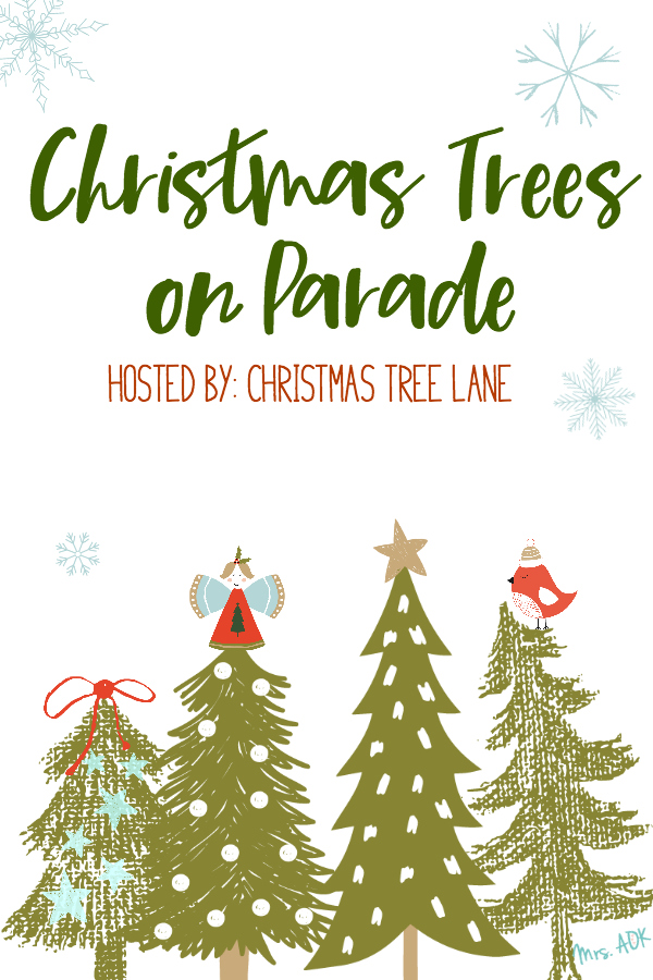 Christmas Tress on Parade: I'm sharing my Christmas Tree along with a few other bloggers. Come take a peek into our homes for the holidays.