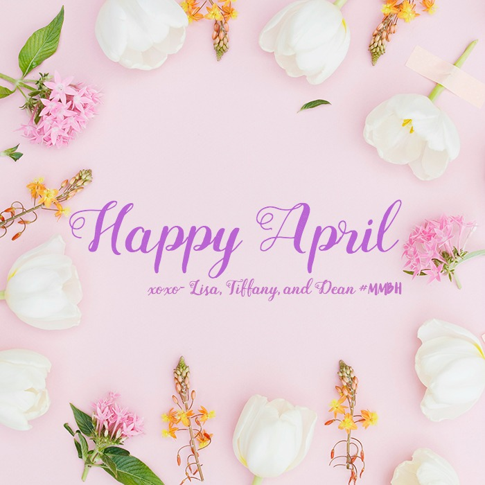 Happy April, Mommy Monday Blog Hop Community! We're so happy to start April off with you. Looking forward to seeing your posts this month and always.