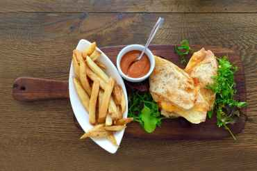 restaurant style food