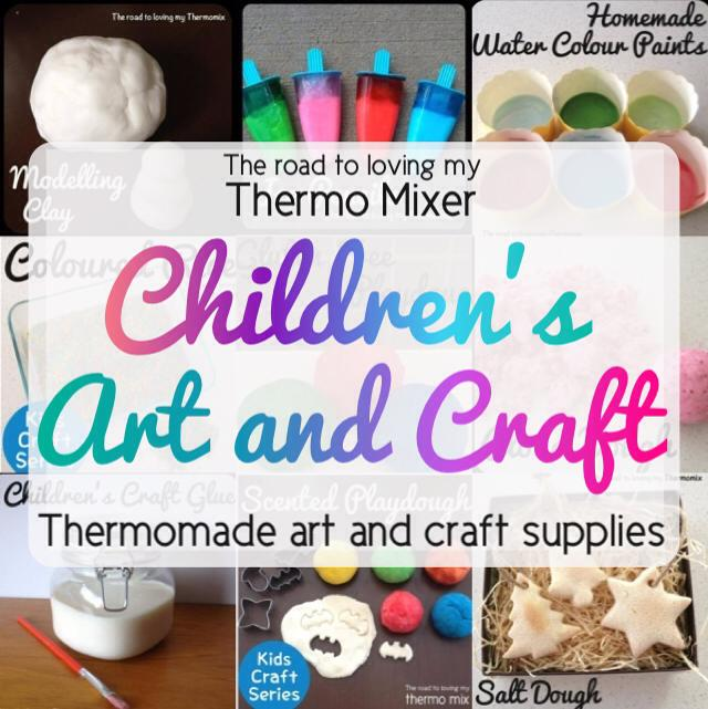 Thermie Thursday - kids craft supplies made in the thermoix