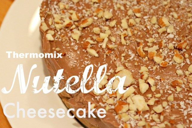 Thermomix nutella cheesecake 1