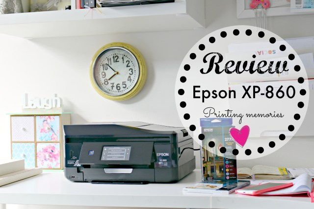 Epson XP-860 review