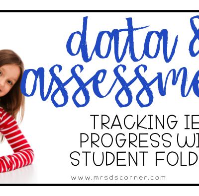 Data and Assessment using Student Folders
