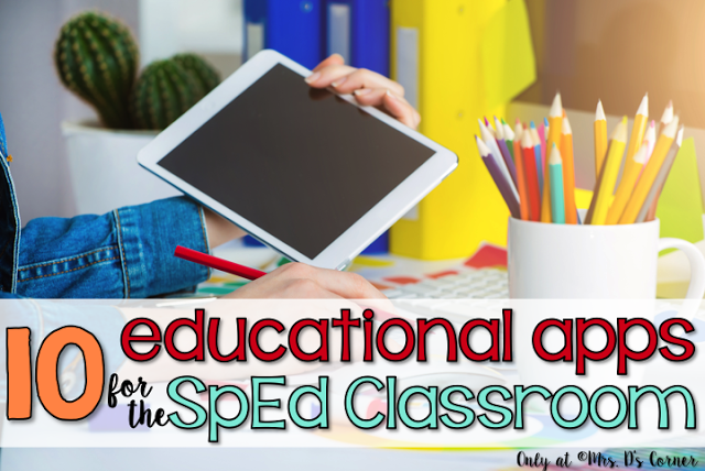 10 Educational Apps for the SPED Classroom