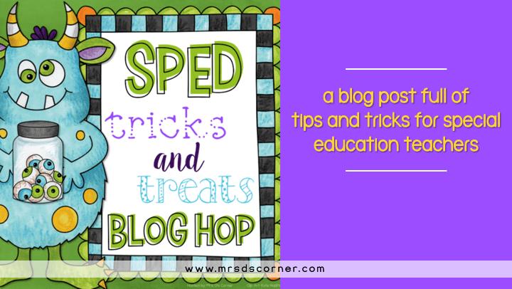 tricks and treats blog post header
