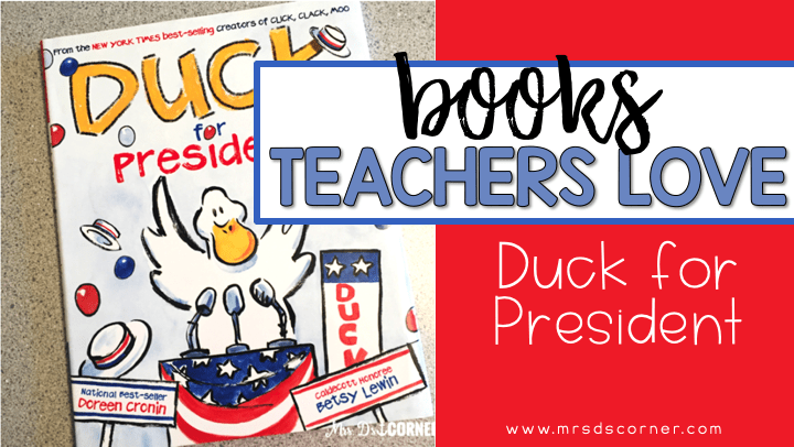 duck for president blog post header