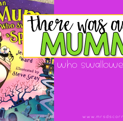There was an old mummy who swallowed a spider book companion