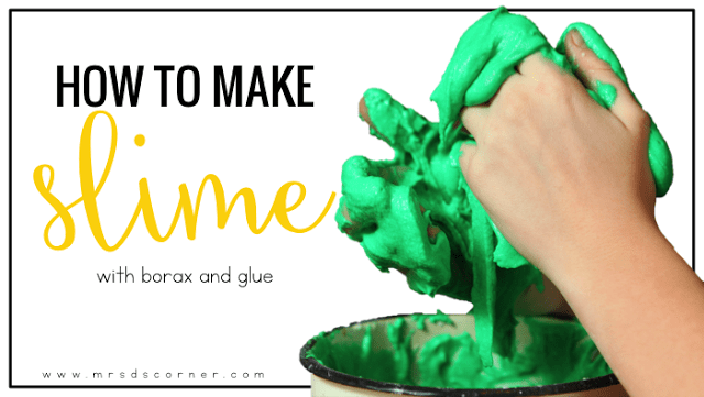 Sensory Input for Students: How to Make Slime