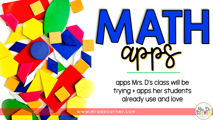 guided math apps blog post header