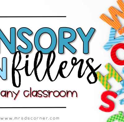 Sensory Bin Fillers for Any Classroom