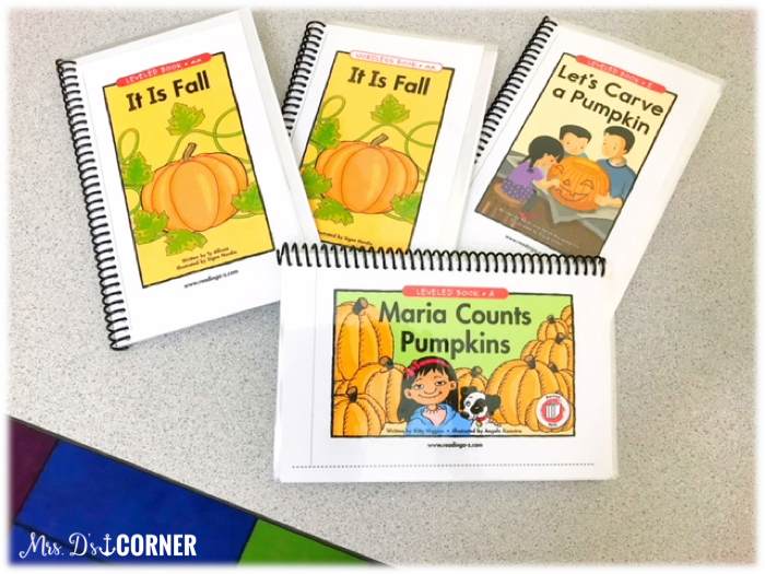 Reading AZ adapted books are great for reading toolkits