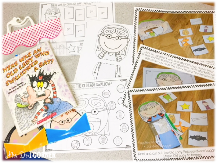 Book companion sets are great to send home in reading toolkits too, with pictures of how to perform each activity for parents.