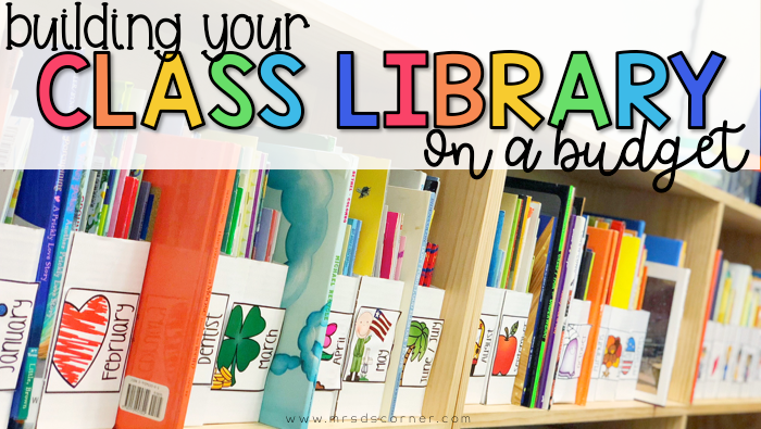 Building a Classroom Library on a Budget
