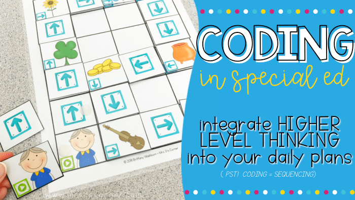 Coding in Special Ed – Guided Coding Stories