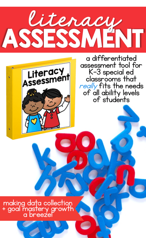 As special education teachers, we often are not provided with appropriate resources to assess our students current levels of learning. Or the resource we are given doesn't meet the needs of all of the learning styles in our classroom. We always make it work though. Assessments need to be easy to implement and should cover a wide-range of ability levels. It's not one size fits all... and now it never has to be again. Learn more about assessment at Mrs. D's Corner.