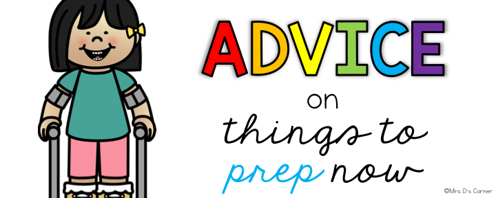 first year teacher tips and tricks - advice on things to prep now