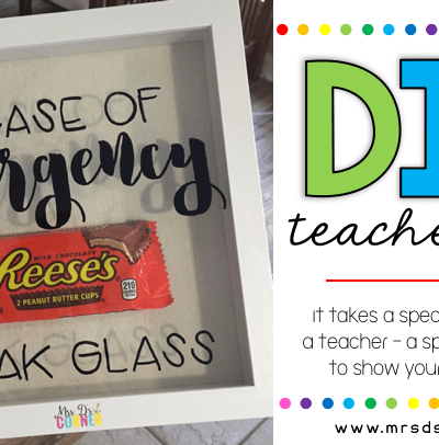 teacher gift and para gift steps for DIY header