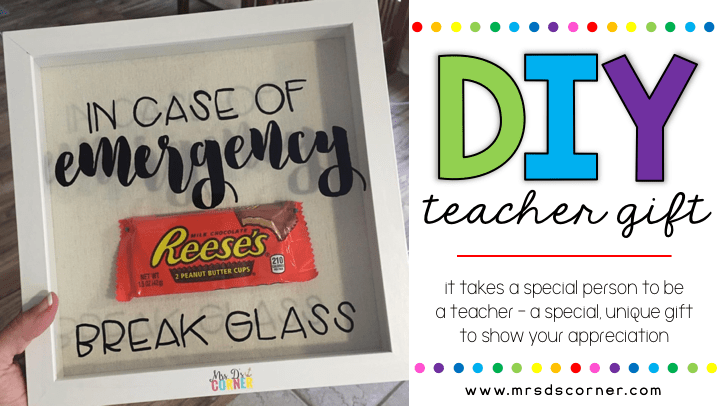 teacher gift and para gift steps for DIY header