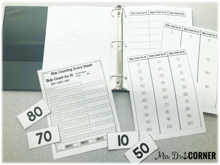 • Number + Operations in Base 10 Compose + Decompose Numbers Compare Two Numbers Skip Counting (2-10, 20, 25, 50) Number Lines (fractions + whole numbers) math assessment