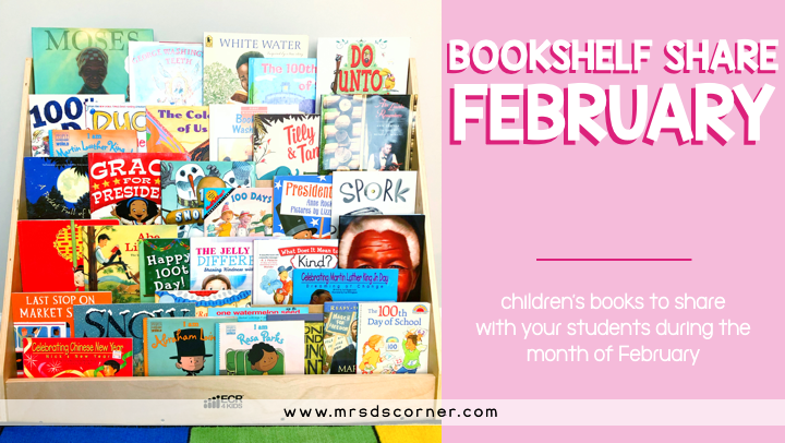 Bookshelf Share February books for kids
