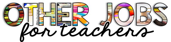 other jobs for teachers - teaching degree jobs  subhead 2