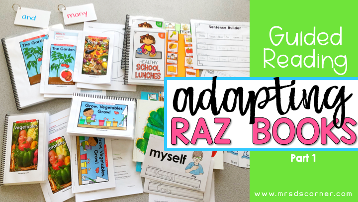 Guided Reading Lessons + Rotation in Self Contained SPED – Part 1