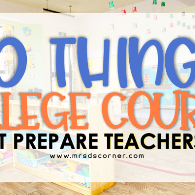 10 things college does not each us teachers pin image