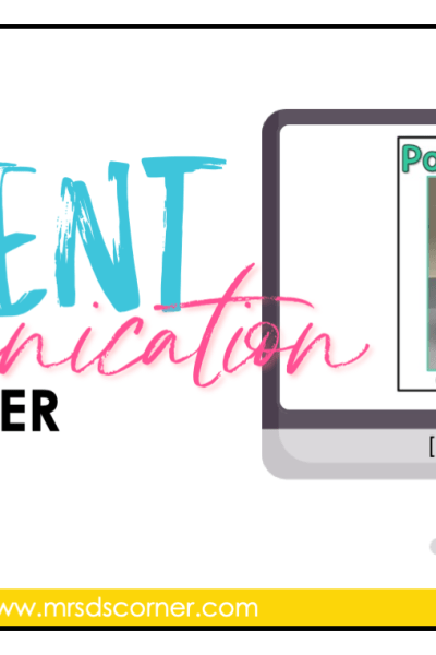 free parent communication binder blog header