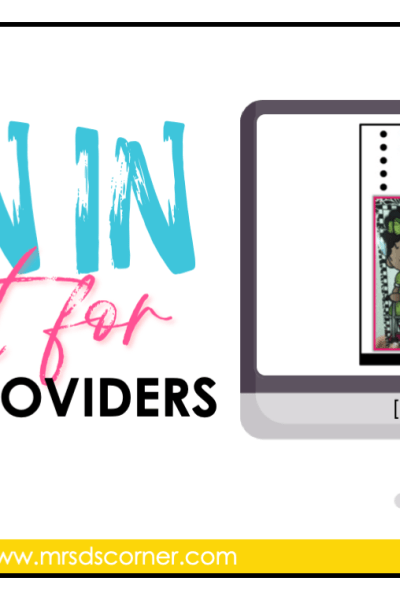 FREE IEP service provider times sign in sheet blog header