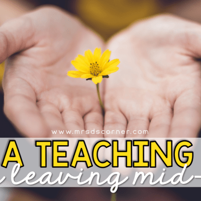 how to get a teaching job after leaving midyear
