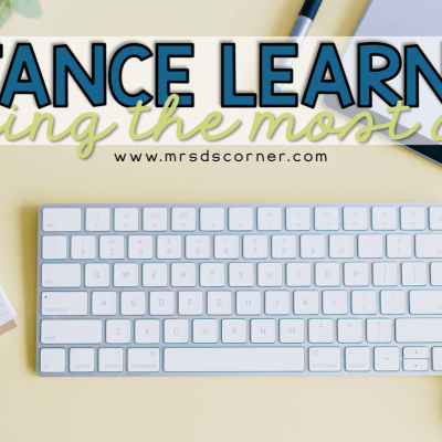how to make the most of distance learning blog header