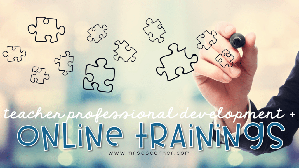 Online Training + Professional Development for Teachers