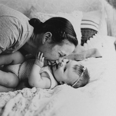 Barnfotografering Ida 6 månader 1-4