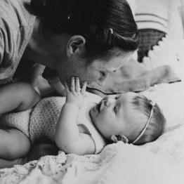 Barnfotografering Ida 6 månader 1