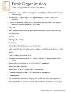 JanGapper-DeskOrganizationChecklist2015