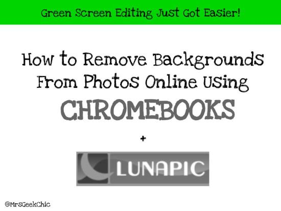How to remove backgrounds from photos online - Lunapic