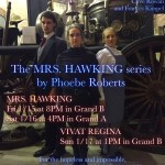 Mrs. Hawking and Vivat Regina at Arisia 2016