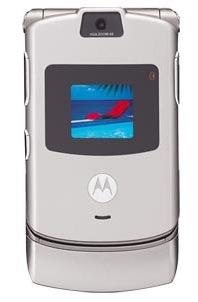 Motorola V3 Silver