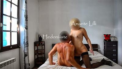 AmanteLilli et son Amant dans notre lit sans ma présence