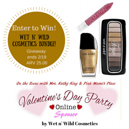 Wet n' Wild Cosmetics Giveaway! ARV $25 Ends 2/19 Click on the image to enter!!!
