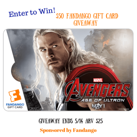 Avengers Age of Ultron  Fandango Gift Card Giveaway group