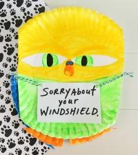 The Secret Life of Pets Kids Activity Sweetpea Paper Plate Craft vert