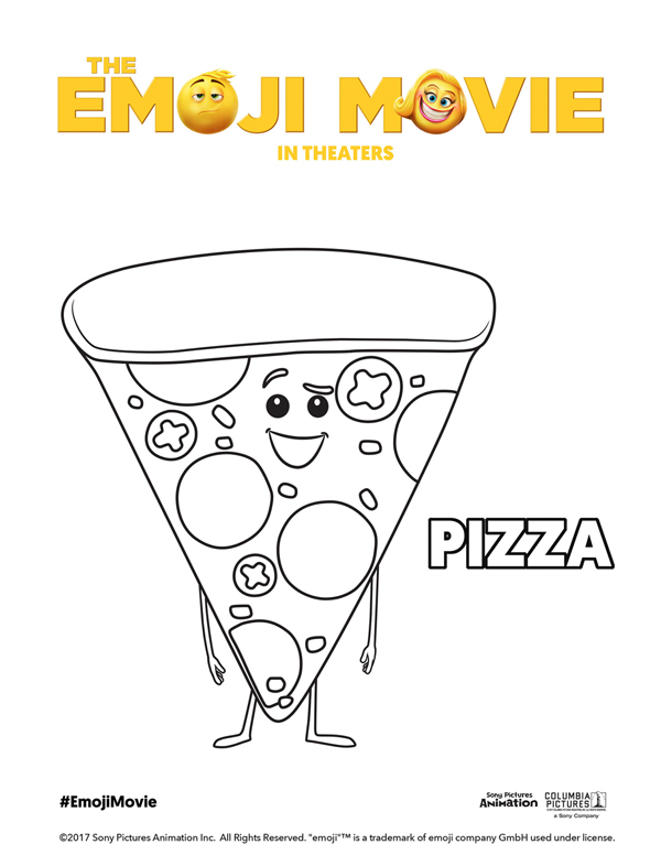Printable Emoji Movie Coloring Pages Theemojimovie Emojimovie Mrs Kathy King