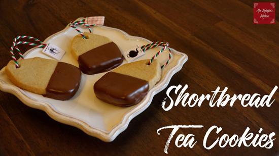 Shortbread Tea Cookies