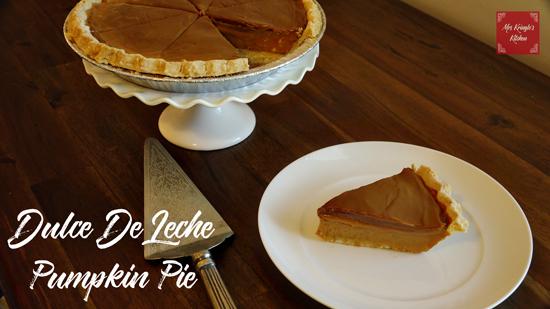 Dulce De Leche Pumpkin Pie