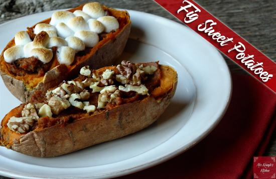 Fig Sweet Potatoes
