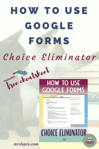 How to use Google Forms Choice Eliminator | Google Apps | Educational Technology | Parent Conferences | Sign Up Forms