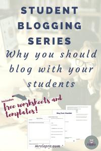 student blogging | blogging | wordpress | how to blog with students | why blog with students | lessons plans | blogging lessons plans